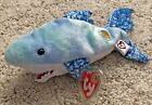 TY Beanie Baby CHOMPERS Shark August 2004 Beanie Baby of the Month MWMT