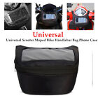Universal Scooter Moped Bike Handlebar Bag Phone Case Saddle Pocket Wallet Pouch