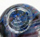 Lincoln City Oregon Finders Keepers Art Glass Fishing Float 2002 multi color
