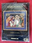 Dimensions Gold Collection Counted Cross Stitch Kit 8563 The Birth of Christ NEW