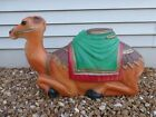 Vintage Empire Camel 28 Blow Mold Christmas Nativity Manger Lighted