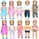 18 Doll Clothes Accessories American Girl Dolls My Life Our Generation 10 Sets