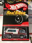 Hot Wheels RLC Real Riders Series 10 Ambulance Lower Number 490 4000 t