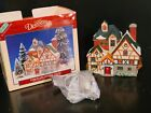 1995 Dickensville LEMAX Village Christmas Porcelain Lighted House In Box