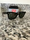 Ray Ban Wayfarer Sunglasses RB2140 902 50mm Tortoise Shell Frame G 15 Green Lens