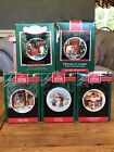 Collectible Hallmark Collector's Plate Ornaments 88, 89, 90, 91 & 92