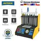 CT200 6 Cylinder Car Fuel Injector Cleaning Machine Ultrasonic Cleaner Tester US