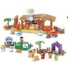 Fisher Price Little People Nativity Playset Three Wise Men And Lil Shepherds New