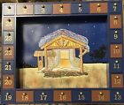 Kurt Adler J3767 Wooden Nativity Advent Calendar with 24 Magnetic Pieces