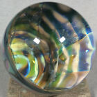 Vortex Art Glass Marble by Bill Grout 190 Goblin Nest 101820a Boro Glass