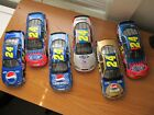 Lot Of 6 JEFF GORDON 1 24 Scale Diecast Cars 24 2001 2004