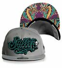 PS Sullen Art Collective New Era Eneko Cobre Dragon Snapback Hat Cap SCA3132 GY