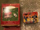 Hallmark Super Friends Mini Lunch Box Ornament Vintage1999 DC Justice League