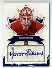 2011 In The Game Canadiana Auto Blue #AMR2 Manon Rheaume