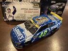 2016 7X CHAMPION JIMMIE JOHNSON 48 LOWES DUAL SIGNED KNAUS AUTOGRAPHED 1 24