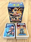 2017 GARBAGE PAIL KIDS BATTLE OF THE BANDS COMPLETE BASE SET + EMPTY BLASTER BOX