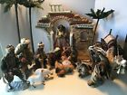 Members Mark Hand Painted Porcelain Nativity Set 2005 Complete