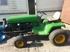 John Deer compact tractor good engine with snow plough needs P T O switch