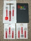 Sizzix Paddlepunch Hammer Mat 8 Punches Hammer Accessories New  Used Lot