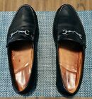 Allen Edmonds Verona Horsebit Loafer Made In Italy Black Men US Size 14 EEE