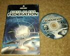 Star Trek BIRTH OF THE FEDERATION PC Game Windows 95 98