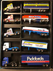Lot of 19 Matchbox Convoy Super Rigs Tractor Trailer Case Excellent Condition