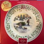 Lenox Annual Christmas 2013 Collectors Plate 23rd in the Series