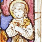 Milford Church UKWatercolour Stained glass 1917 J Powell