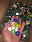 20 Pounds Of Glass Marbles 1 Inch Shooter Mix Lots Marbles may vary from photo