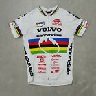 Vintage Cannondale Volvo Full Zip Cycling Jersey Size Large Made in USA