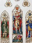 Christ Church Bacup UK Watercolour Stained glass 1917 Powell