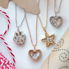 Origami Owl Star CAPSULE LOCKETS NECKLACES w charms Free Shipping