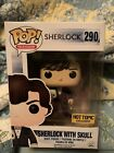 Funko Pop # 290 Sherlock Holmes Skull Hot Topic Exclusive Good Box