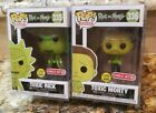 New In Box Target Exclusive Funko Pop! #335 and 336 TOXIC Rick and Morty Lot!