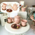 Maileg Pink Kettle Set Macaron Footed Compote Candy Dish Houston Christmas Gift