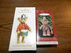 HALLMARK Gift Bearers1999 First of Series+ North Pole Band Teddy-NEW IN BOXES