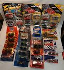 Lot Of 28 Cars 1 64 NASCAR Die cast With Cards Various Drivers  Brands F SHIP