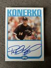 Paul Konerko Cards, Rookie Cards and Autographed Memorabilia Guide 5