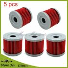5x Oil Filter For YX150 YX160 Z155 150cc 160cc 1P60 Lifan Zongshen Loncin CB2