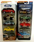 New 164 Matchbox Diecast Ford Chevrolet Chevy Pickup Classic Trucks 5 Pack Lot