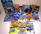 Hot Wheels Matchbox Sky Busters Diecast Military Planes Jets F 18 Helicopter Lot