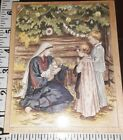Stamps happen nativity with children big105rubber  wood