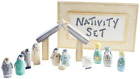 East of India Mini Wooden Nativity Set in a Box
