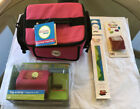 Ellison Design Tag a long Beginners Kit Pink Travel Tote Sizzlits Extended Cuts