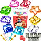 29pc Sandwich Cutter Set Kids Of All Ages Turn Vegetables Fruits Cheese Fun