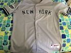New York Yankees #62 Authentic On-Field All Star Game Jersey Away Size 48