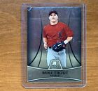 MIKE TROUT 2010 BOWMAN PLATINUM ROOKIE CARD PP5 ANGELS MVP HOTTEST IN BASEBALL🔥