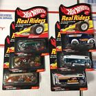 Hot Wheels RLC Real Riders Series 5 Set Of 6 Excellent 67 Camaro Drag Bus 72