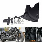 Lower Chin Fairing Front Spoiler For Harley Sportster XL Fatboy Softail Touring