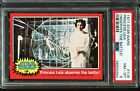 1977 Topps Star Wars Red Series 2 #106 A MESSAGE FROM PRINCESS LEIA! PSA 8 NM-MT